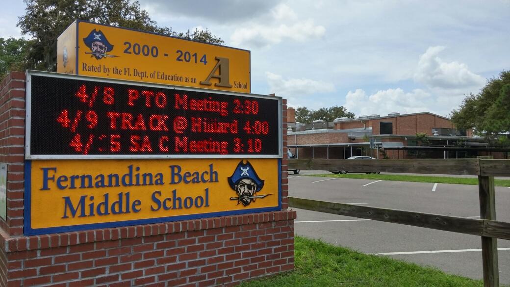 Fernandina Beach Middle School Among The Districtu0027s   Proudest Accomplishment